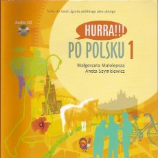 Libros de segunda mano: PO POLSKU 1 MALGORZATA MALOLEPSZA INCLUYE CD . Lote 50650720