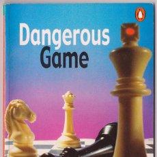 Libros de segunda mano: DANGEROUS GAME DE WILLIAM HARRIS (EDITED BY L.G.ALEXANDER, PENGUIN READERS, LEVEL 3 PRE-INTERMEDIAT). Lote 50851697