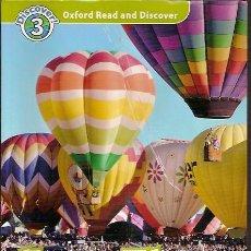 Libros de segunda mano: DICOVER 3 OXFORD READ AND DISCOVER FREE TIME AROUND THE WORLD. Lote 50971773