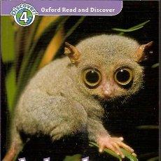 Libros de segunda mano: DISCOVER 4 OXFORD READ AND DISCOVER ANIMALS AT NIGHT. Lote 50971791