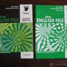 Libros de segunda mano: NEW ENGLISH FILE INTEWRMEDIATE. Lote 50995475