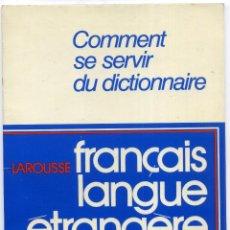 Libros de segunda mano: FRANÇAIS LANGUE ÉTRANGÈRE [CURSO DE FRANCÉS][NIVEL 1]. Lote 51021619