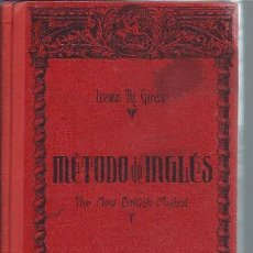 Libros de segunda mano: MÉTODO DE INGLÉS, LEWIS TH.GIRAY, THE NEW BRITISH METHOD, LIBRO PRIMERO, COLECC. MAGISTER BCN 1947. Lote 51239156