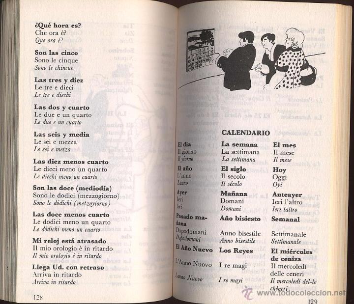 Libros de segunda mano: GUIA DE CONVERSACION ESPAÑOL ITALIANO - YALE - Foto 4 - 53262568