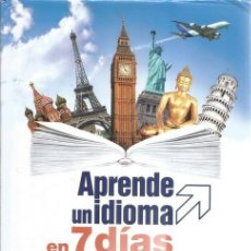 Libros de segunda mano: RAMÓN CAMPAYO. APRENDE UN IDIOMA EN 7 DÍAS. RM72365. . Lote 53267359