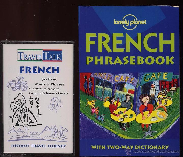 Libros de segunda mano: TRAVEL TALK FRENCH - LONELY PLANET - CON LIBRO Y CASETE USADO POCAS VECES - Foto 3 - 53271003