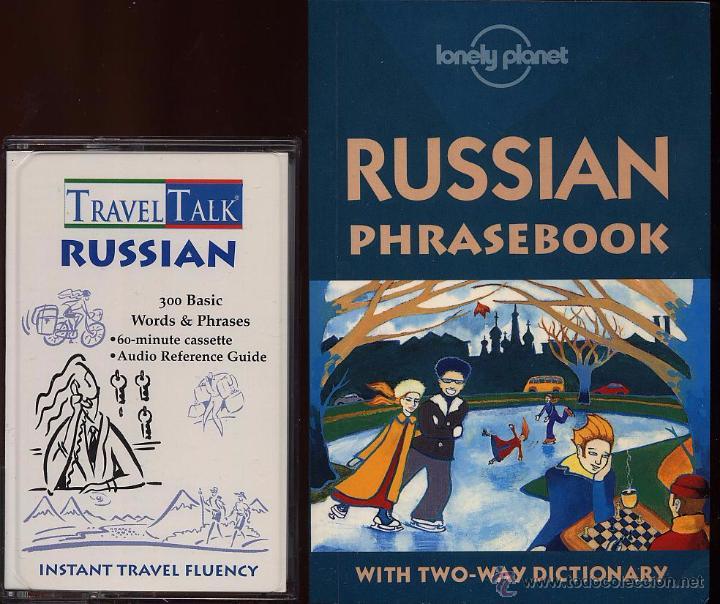 Libros de segunda mano: TRAVEL TALK RUSSIAN - LONELY PLANET - CON LIBRO Y CASETE USADO POCAS VECES (Ref-SaMiIzEs1) - Foto 3 - 53271024