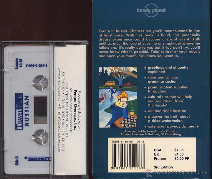 Libros de segunda mano: TRAVEL TALK RUSSIAN - LONELY PLANET - CON LIBRO Y CASETE USADO POCAS VECES (Ref-SaMiIzEs1) - Foto 4 - 53271024