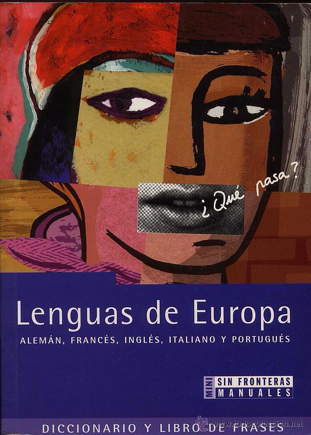 LENGUAS DE EUROPA - ALEMAN FRANCES INGLES ITALIANO Y PORTUGUES --- (REF-SAMIIZES3) (Libros de Segunda Mano - Cursos de Idiomas)