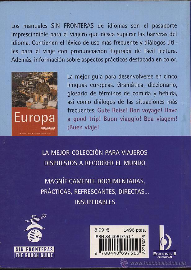 Libros de segunda mano: LENGUAS DE EUROPA - ALEMAN FRANCES INGLES ITALIANO Y PORTUGUES --- (Ref-SaMiIzEs3) - Foto 2 - 53382295