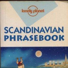 Libros de segunda mano: SCANDINAVIAN PHRASEBOOK - LONEY PLANET - AÑO 2001 - 384 PAG. Lote 53382385