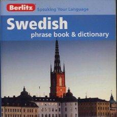 Libros de segunda mano: SWEDISH PHRASE BOOK AND DICTIONARY - EDITORIAL BERLITZ - 226 PAG -(REF-SAMIIZES3). Lote 53382406