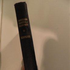 Libros de segunda mano: DICCIONARIO CIENTÍFICO Y TECNOLÓGICO EN INGLÉS - FRANCÉS - ALEMÁN- ESPAÑOL NEWMARK,HEMISFERIO1944. Lote 53395834
