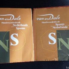 Libros de segunda mano: DICCIONARIOS IDIOMAS VAN DALE HOLANDÉS NEERLANDÉS = ESPAÑOL. Lote 53644971