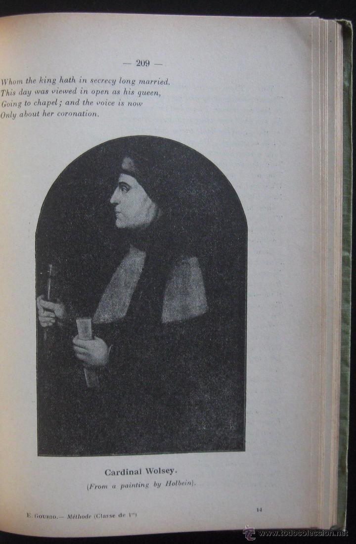 Libros de segunda mano: (Literatura Inglesa-Inglés) 1920 - Antiguo Libro de Texto - Ilustrado - Grabados - Curso de Inglés - Foto 11 - 53872048