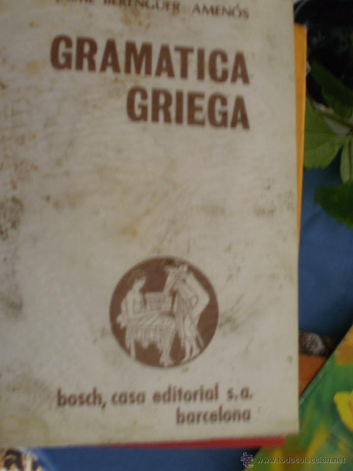 GRAMATICA GRIEGA -------- (REF-CAYACACOMUGRESCEN) (Libros de Segunda Mano - Cursos de Idiomas)