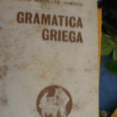 Libros de segunda mano: GRAMATICA GRIEGA -------- (REF-CAYACACOMUGRESCEN). Lote 54452441
