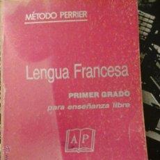 Libros de segunda mano: LENGUA FRANCESA. Lote 54159075