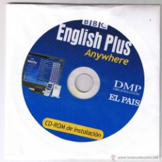 Libros de segunda mano: CD ROM - BBC ENGLISH PLUS ANYWHERE - DMP - EL PAIS - CD ROM. Lote 54755571