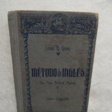 Libros de segunda mano: METODO DE INGLES THE NEW BRITISH METHOD DE LEWIS TH. GIRAU LIBRO SEGUNDO. Lote 55788784