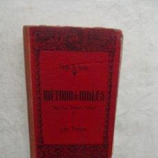 Libros de segunda mano: METODO DE INGLES THE NEW BRITISH METHOD DE LEWIS TH. GIRAU LIBRO PRIMERO . Lote 55788815