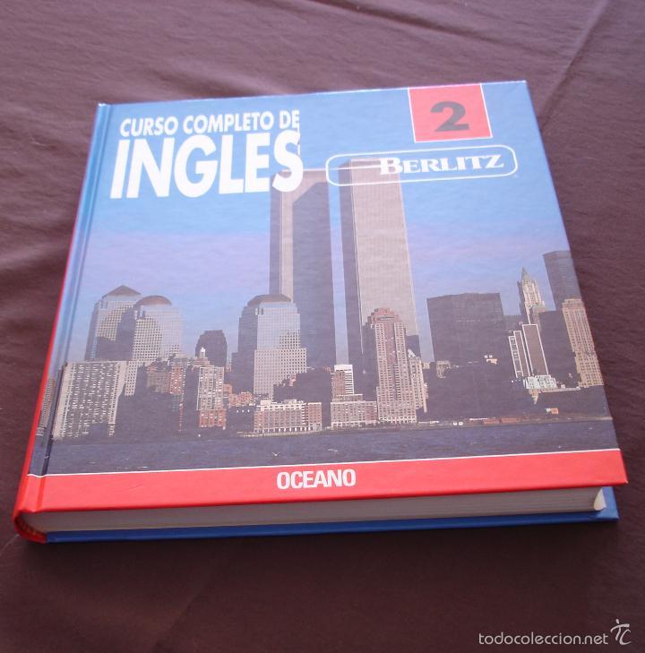 Libros de segunda mano: CURSO COMPLETO DE INGLÉS BERLIZ - 2 VOLS. + ESTUCHE CON 14 CASSETTES - OCEANO - MADRID, 1992 - Foto 4 - 56162492