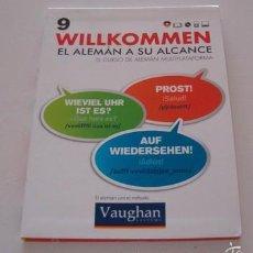 Libros de segunda mano: VV.AA. EL ALEMÁN CON EL MÉTODO VAUGHAN. WILLKOMMEN. EL ALEMÁN A SU ALCANCE. Nº 9. RMT74182.. Lote 56338902