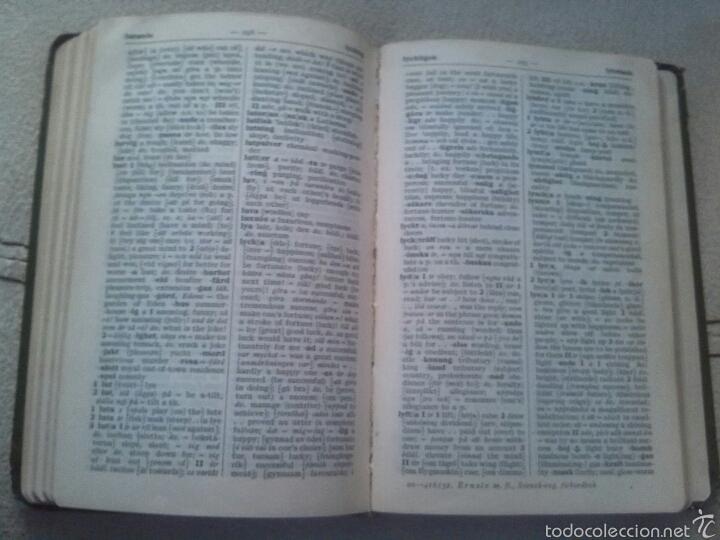 Libros de segunda mano: Diccionario Sueco/ingles año 1942 - Foto 2 - 56595674