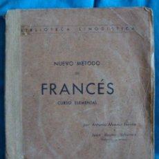 Libros de segunda mano: NUEVO MÉTODO DE FRANCÉS 1945 CURSO ELEMENTAL EDITORIAL RAUTER-ÁLVAREZ FERRÁN-RAUTER SCHURRIAN. Lote 57824683