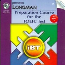 Libros de segunda mano: TOEFL PREPARATION COURSE. LONGMAN. SECOND EDITION . INCLUYE CD.ROM. Lote 58336928