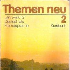 Libros de segunda mano: THEMEN NEU 2 KURSBUCH HUEBER. Lote 59864168