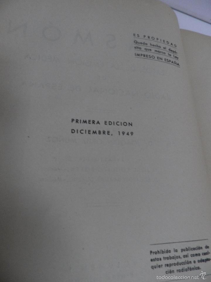 Libros de segunda mano: DR. J. ORTIZ MUÑOZ PLASMÓN. TEXTOS MÉDICO-LITERARIOS DE LAS EMISIONES RADIOFÓNICAS. 2 VOL, 1º EDIC - Foto 6 - 59874072
