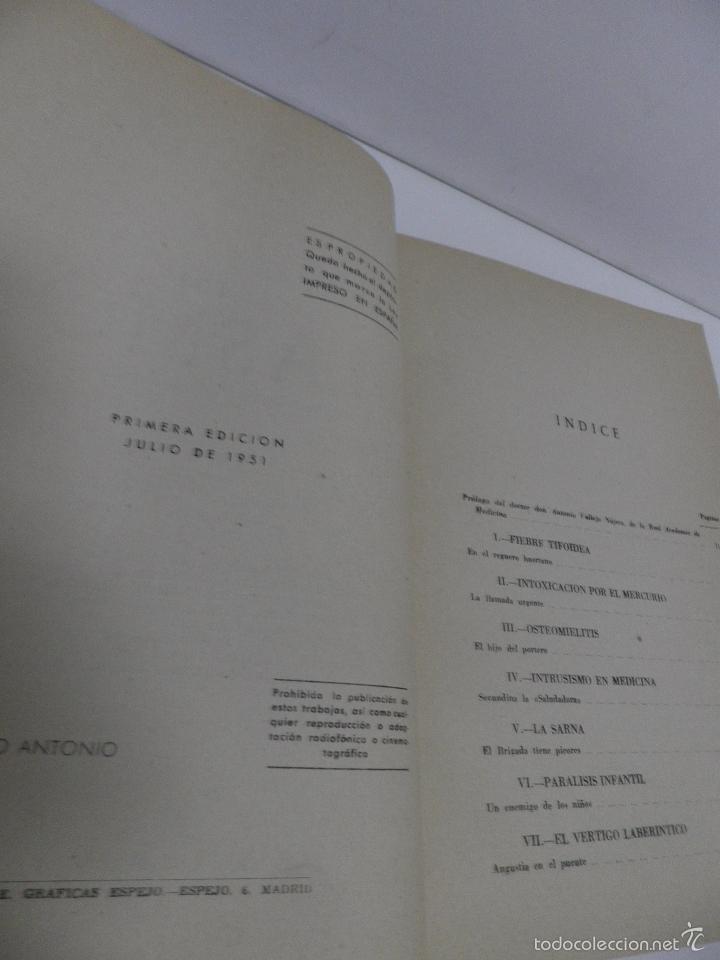 Libros de segunda mano: DR. J. ORTIZ MUÑOZ PLASMÓN. TEXTOS MÉDICO-LITERARIOS DE LAS EMISIONES RADIOFÓNICAS. 2 VOL, 1º EDIC - Foto 14 - 59874072