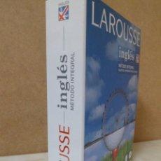 Libros de segunda mano: CURSO DE INGLÉS LAROUSSE. INGLÉS MÉTODO INTEGRAL. LIBRO + 2CD´S. Lote 61259219