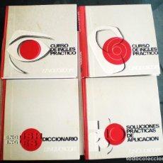 Libros de segunda mano: CURSO INGLÉS PRÁCTICO LINGUOSCOPE, CON 12 DISCOS, EMBALAJE ORIGINAL. 1967. Lote 61838292