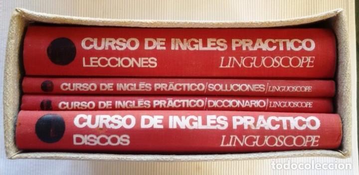 Libros de segunda mano: CURSO INGLÉS PRÁCTICO LINGUOSCOPE, CON 12 DISCOS, EMBALAJE ORIGINAL. 1967 - Foto 6 - 61838292