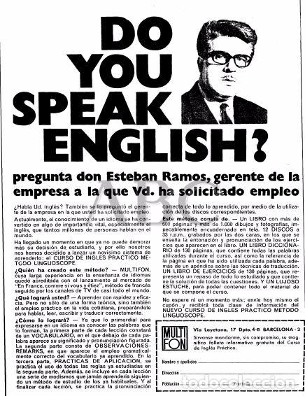 Libros de segunda mano: CURSO INGLÉS PRÁCTICO LINGUOSCOPE, CON 12 DISCOS, EMBALAJE ORIGINAL. 1967 - Foto 14 - 61838292