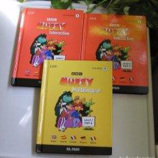 Libros de segunda mano: LOTE DE TRES VOLÚMENES DE BBC MUZZY INTERACTIVE CINCO IDIOMAS LEVEL 1 Nº 4, 5 Y 6 COLECC DE EL PAÍS. Lote 64323499