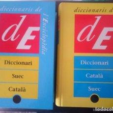 Libros de segunda mano: DICCIONARIS CATALA SUEC I SUEC CATALA. Lote 67701181