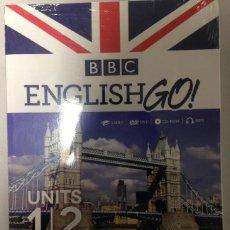 Libros de segunda mano: LIBRO 1/2 ENGLISH GO - BBC. Lote 68707949