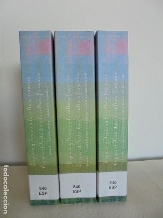 Libros de segunda mano: ANGELES SIRVENT RAMOS. ESPACIO Y TEXTO EN LA CULTURA FRANCESA. VER FOTOGRAFIAS ADJUNTAS. - Foto 3 - 69952145