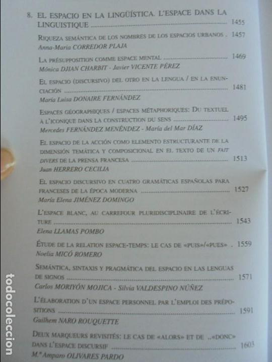 Libros de segunda mano: ANGELES SIRVENT RAMOS. ESPACIO Y TEXTO EN LA CULTURA FRANCESA. VER FOTOGRAFIAS ADJUNTAS. - Foto 39 - 69952145