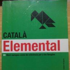 Libros de segunda mano: #CATALÀ ELEMENTAL B1. Lote 74432751