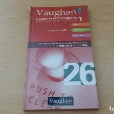 Libros de segunda mano: VAUGHAN SYSTEMS - EL CURSO DE INGLES DEFINITIVO 26 - LIBRO + DVD + CD MP3. Lote 76994977