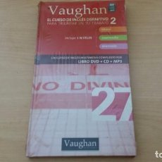Libros de segunda mano: VAUGHAN SYSTEMS - EL CURSO DE INGLES DEFINITIVO 27 - LIBRO + DVD + CD MP3. Lote 76996933