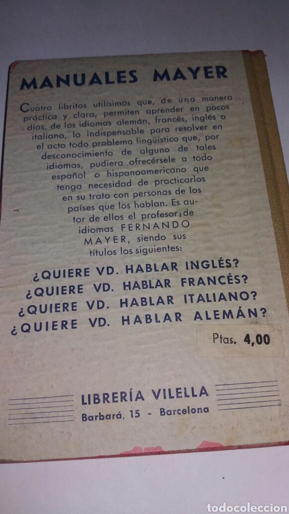 Libros de segunda mano: ANTIGUO LIBRO ¿QUIERE USTED HABLAR INGLES? 1939 - Foto 2 - 77527658