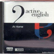 Libros de segunda mano: VESIV CD CURSO INGLES DE EL DIARIO EL PAIS ACTIVE ENGLISH Nº 2 AT HOME. Lote 180855475