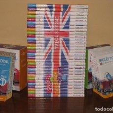 Libros de segunda mano: INGLÉS TOTAL. EL CURSO COMPLETO DE INGLÉS. CAMBRIDGE UNIVERSITY PRESS. 30 LIBROS, 30 CDS Y DVDS.. Lote 80148041