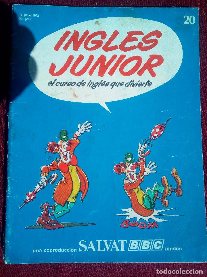 FASCICULO INGLES JUNIOR BBC SALVAT 1978 (Libros de Segunda Mano - Cursos de Idiomas)
