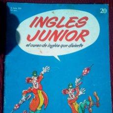 Libros de segunda mano: FASCICULO INGLES JUNIOR BBC SALVAT 1978. Lote 32746725